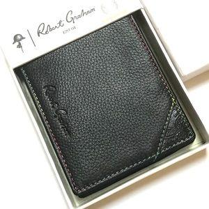 Robert Graham RFID signal blocking leather wallet